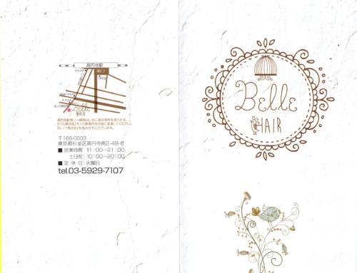 Belle hair design